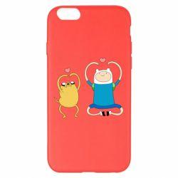 Чохол для iPhone 6 Plus/6S Plus Adventure time