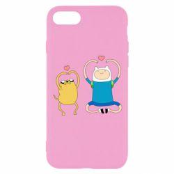 Чохол для iPhone 7 Adventure time