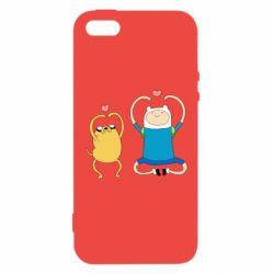 Чохол для iphone 5/5S/SE Adventure time