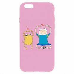 Чохол для iPhone 6/6S Adventure time