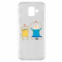 Чохол для Samsung A6 2018 Adventure time