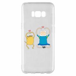 Чохол для Samsung S8+ Adventure time