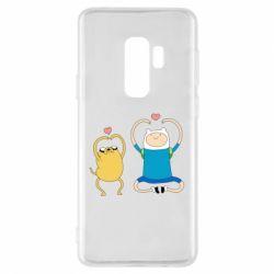 Чохол для Samsung S9+ Adventure time