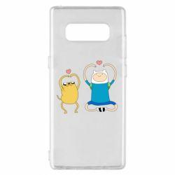 Чохол для Samsung Note 8 Adventure time