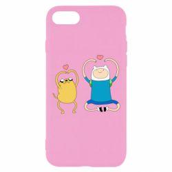 Чохол для iPhone 8 Adventure time