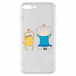 Чохол для iPhone 8 Plus Adventure time