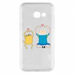 Чохол для Samsung A3 2017 Adventure time