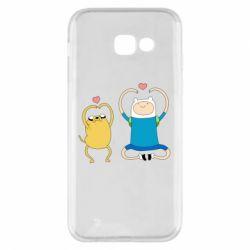Чохол для Samsung A5 2017 Adventure time