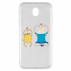 Чохол для Samsung J7 2017 Adventure time