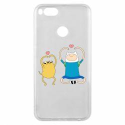 Чехол для Xiaomi Mi A1 Adventure time