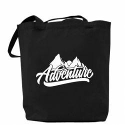 Сумка Adventures and mountains