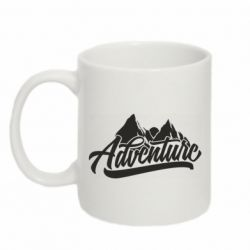 Кружка 320ml Adventures and mountains