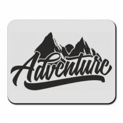 Коврик для мыши Adventures and mountains
