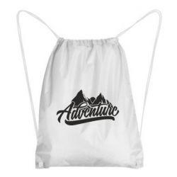 Рюкзак-мешок Adventures and mountains
