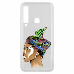 Чохол для Samsung A9 2018 African girl in a color scarf