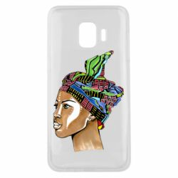 Чохол для Samsung J2 Core African girl in a color scarf