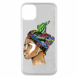 Чохол для iPhone 11 Pro African girl in a color scarf