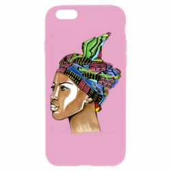 Чохол для iPhone 6/6S African girl in a color scarf