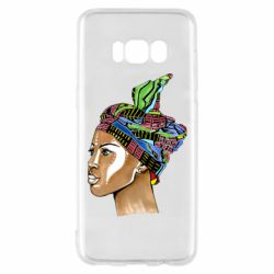 Чохол для Samsung S8 African girl in a color scarf