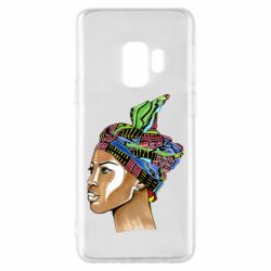 Чохол для Samsung S9 African girl in a color scarf