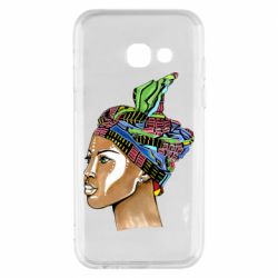 Чохол для Samsung A3 2017 African girl in a color scarf