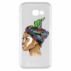 Чохол для Samsung A5 2017 African girl in a color scarf