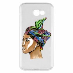 Чохол для Samsung A7 2017 African girl in a color scarf