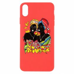 Чехол для iPhone Xs Max African women