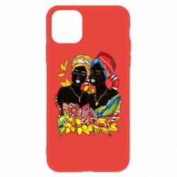 Чехол для iPhone 11 African women