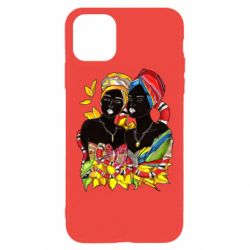 Чехол для iPhone 11 Pro African women