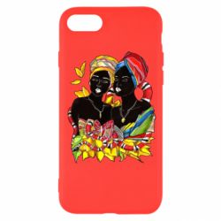 Чехол для iPhone 7 African women