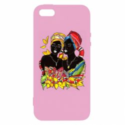 Чехол для iPhone5/5S/SE African women