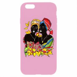 Чехол для iPhone 6/6S African women