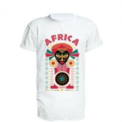 Papurasx, Удлиненная футболка Африка, FatLine  - купить со скидкой