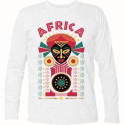 Купить Papurasx, Футболка с длинным рукавом Африка, FatLine