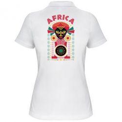 Купить Papurasx, Женская футболка поло Африка, FatLine