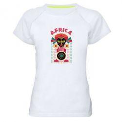 Купить Papurasx, Женская спортивная футболка Африка, FatLine