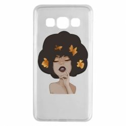 Чохол для Samsung A3 2015 Afro girl in autumn shades