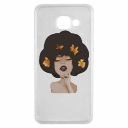 Чохол для Samsung A3 2016 Afro girl in autumn shades
