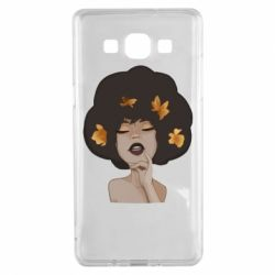 Чохол для Samsung A5 2015 Afro girl in autumn shades