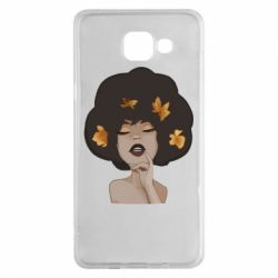 Чохол для Samsung A5 2016 Afro girl in autumn shades