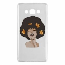 Чохол для Samsung A7 2015 Afro girl in autumn shades