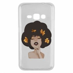 Чохол для Samsung J1 2016 Afro girl in autumn shades - FatLine