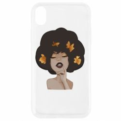 Чохол для iPhone XR Afro girl in autumn shades