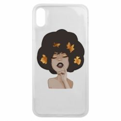 Чохол для iPhone Xs Max Afro girl in autumn shades