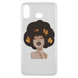 Чохол для Samsung A6s Afro girl in autumn shades