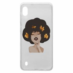 Чохол для Samsung A10 Afro girl in autumn shades