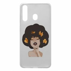Чохол для Samsung A60 Afro girl in autumn shades