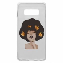 Чохол для Samsung S10e Afro girl in autumn shades