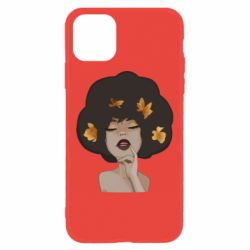 Чохол для iPhone 11 Afro girl in autumn shades